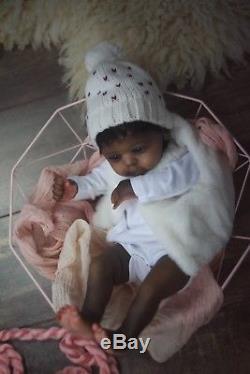 Ethnic Prototype reborn doll Yael Legler Boiron