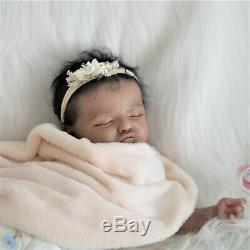 Ethnic, baby reborn doll Rosalie, realistic artist Olga Konovnina, cute babies
