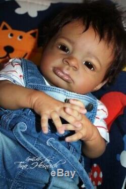 Ethnik Reborn Baby Lanny by Olga Auer Bausatz Kit doll boy Junge