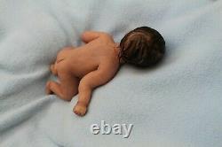 FULL BODY SILICONE BABY girl miniature