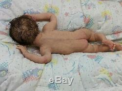 FULL Body SOLID SILICONE Baby GIRL Diamond awake #6 DRINK/WET with armatures