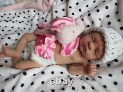 FULL Body Soft SILICONE Baby GIRL Doll BEATRIX by DAWN BOWIE DRINK and WET