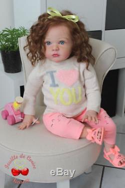 Feuille-de-Cerise-Nursery reborn doll baby toddler Mattia Gudrun Legler CUTE