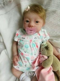 Full Body ECOFLEX SILICONE Baby GIRL Doll