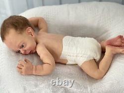 Full Body Silicone Baby Girl Doll Awake
