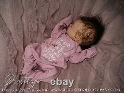 Full Body Silicone Baby Girl Doll PROTOTYPE Marshmallow Soft Silicone