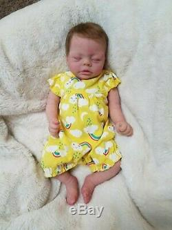 Full Body Silicone Baby Girl Reborn Doll Minnie by Bonnie Sieben Elie Habibi