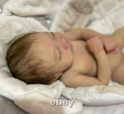 Full Body Silicone Baby Lizzie Squishy Marshmallow Blend by Helen Connors