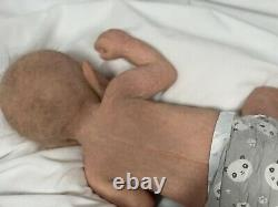 Full Body Silicone Baby boy Lucas Soft Blend Real Feel Lifelike NQP