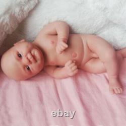 Full Body Silicone Reborn Baby Doll 14 inch 1.65kg Realistic Lifelike Boy Doll