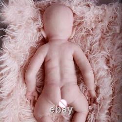 Full Body Silicone Reborn Girl Baby Realistic Lifelike Doll Reborn Preemie Dolls