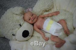 Full Body Soft Solid Boy (PREMATURE 15) Silicone Baby doll / REBORN