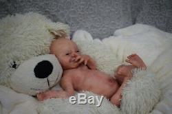 Full Body Soft Solid boy PREMATUR15Silicone Baby doll/REBORN SILICONA