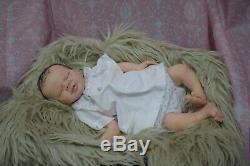 Full Body Soft Solid boy or girl PREMATUR16Silicone Baby doll/REBORN SILICONA