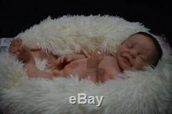 Full Body Soft Solid girl PREMATUR16Silicone Baby doll/REBORN SILICONA