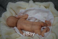 Full Body Soft Solid girl o boy (PREMATURE 15) Silicone Baby doll / REBORN