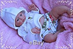 Full Body Solid Silicone Baby Doll Reborn by Andrea Arcello