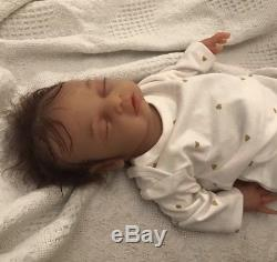 Full Silicone Body reborn baby Girl doll Anatomically Correct Open Mouth