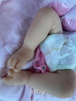 Full body silicone baby Leeza By Michelle Fegan