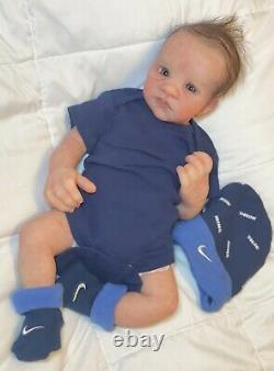 Full body silicone baby boy. 17 Inches. 5 Lbs Anatomically Correct. Drink/wet
