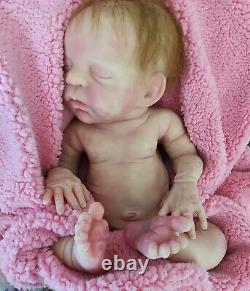 Full body silicone baby doll Rileigh by Joanna Gomes 10 of 30 7lb14oz 17 in COA