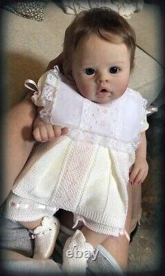 Gorgeous Partial Silicone Baby Girl JUNE by Bonnie Sieben Made By Ellies Babies