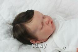 Gorgeous Reborn Baby Doll Twin B by Sculpted by Bonnie Brown with COA