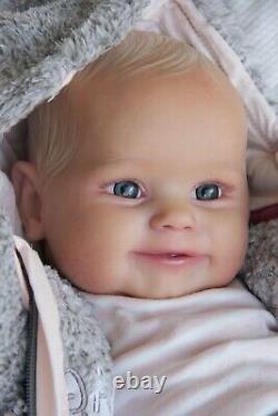 Gorgeous Reborn Baby Maddie By Bonnie Brown By Artist Vessela Karloukovska
