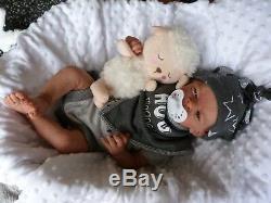HANLEY reborn doll life like realistic baby lil yawn limited edition pro artist
