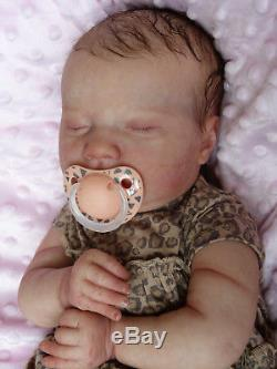 HANLEY reborn doll realborn realistic baby Laila professional artist GHSP