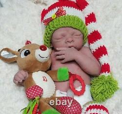 HOLIDAY SALE Full Body Silicone Baby SOLE OOAK ROSE #8/8