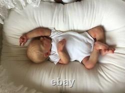 Hyper Realistic Reborn Baby Twin BArtist Kesia Raynor, COA & Large Layette