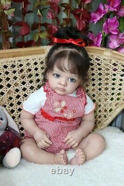 Hyper-realistic baby Tutti-, limited set from the Natali Blick/art Lidia Lebedeva