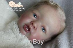 Hyperrealistic Reborn Baby doll Gertie by Laura Lee Eagles 21'