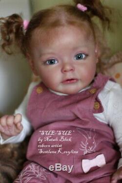 Hyperrealistic Reborn Baby doll Girl Sue- Sue by Natali Blick