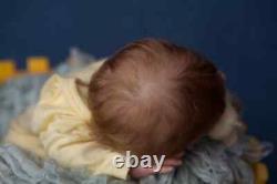 Hyperrealistic Reborn Baby doll Theo by Irina Kaplanskaya