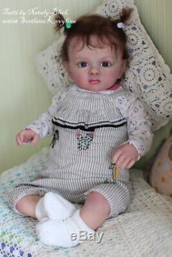 Hyperrealistic Reborn Baby doll Tutti by Natali Blick 23'