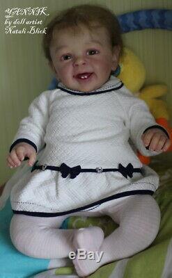 Hyperrealistic Reborn Baby doll Yannik by Natali Blick