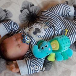 JACK Beautiful Lifelike Reborn Baby Boy 20 Newborn Doll Asleep