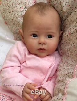 Joanna's Nursery ADORABLE Reborn Baby GIRL doll RAVEN by PING LAU