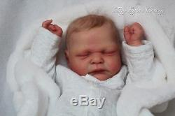 Lifelike LE Prince Ramsey By Cassie Brace Reborn Baby Doll Tiny Gifts Nursery