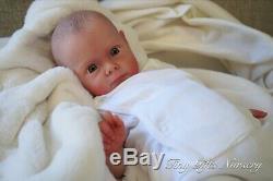 Lifelike RARE Reborn Baby Doll Maggi By Natali Blick By Tiny Gifts Nursery