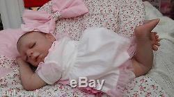 Lifelike Soft Silicone Vinyl Sarah Webb Baby Reborn By Sunbeambabies Great Gift