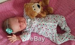 Limited edition, Anastasia reborn baby doll by Olga Auer