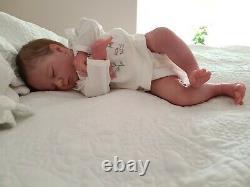 Logan Asleep reborn doll by Bountiful baby