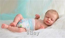 Loulou Kazmierczak baby reborn doll, realistic artist Olga Konovnina, cute baby