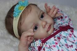 Lovely Reborn Baby Girl Doll Just StunningCUSTOM U CHOOSE Hair & Eyes