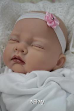 Lovely Reborn Sofia Sculpt Little Baldie Baby Girl Doll Nubornz Nursery