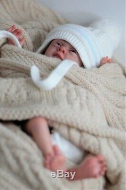Lovelyn baby reborn doll, realistic artist Olga Konovnina, cute babies