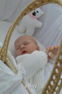 MARIAN ROSS Reborn Newborn Baby Girl Doll SARYAH LAURA TUZIO ROSS Ltd Edition